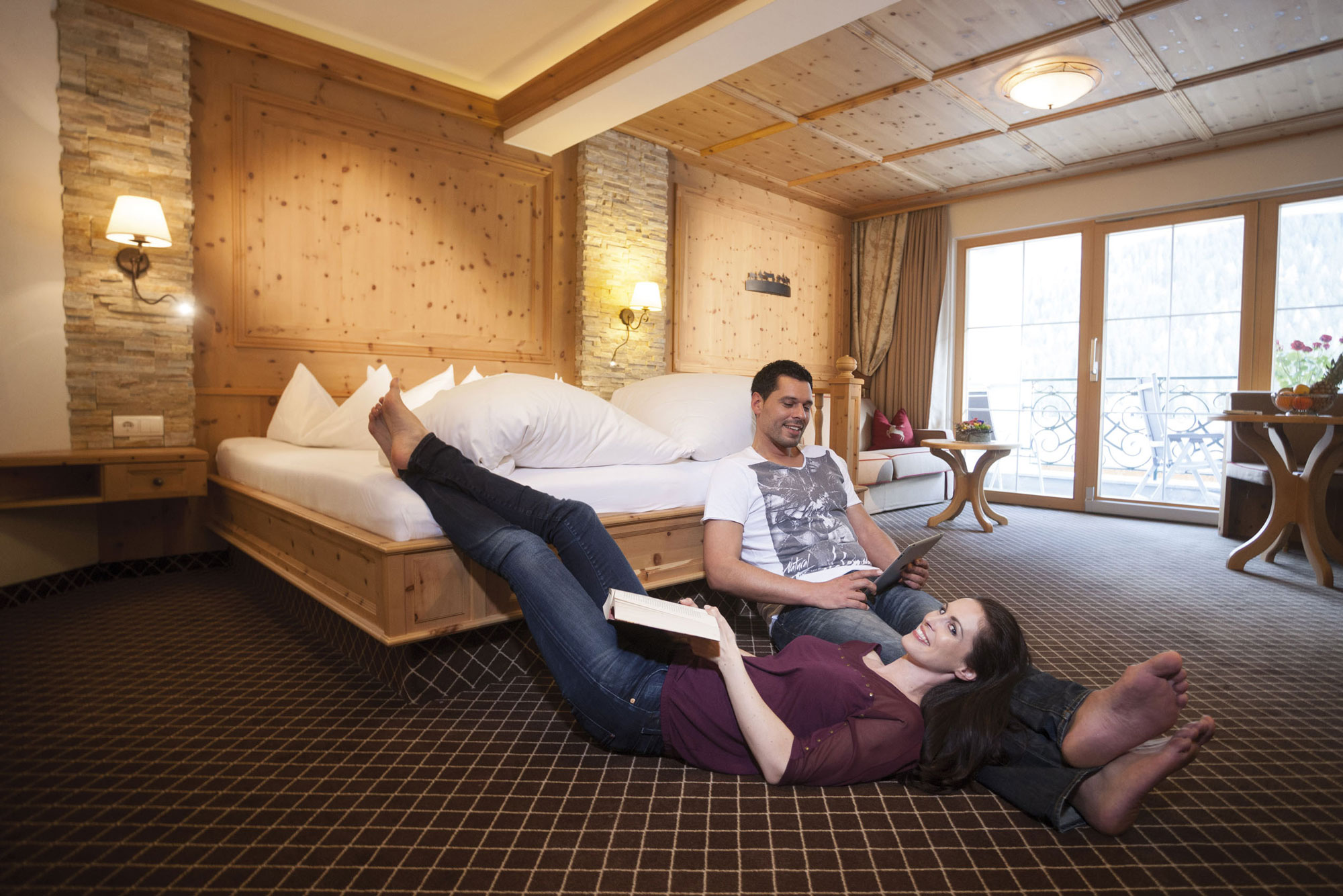 Relaxing holidays at the Hotel Kindl in the Stubai Valley