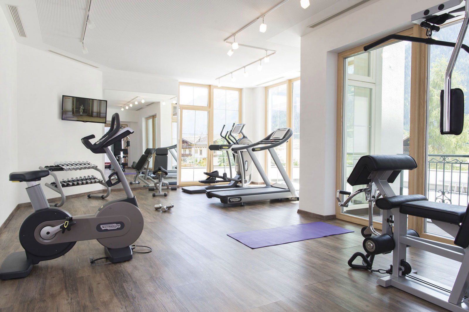 Keep fit - Fitness complex at the Hotel Kindl